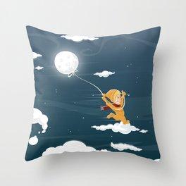 The Sand Kid Throw Pillow