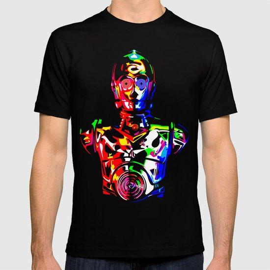 Star Wars: C-3POCMYKRGB T-shirt