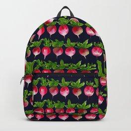 Watercolor radish seamless pattern Backpack