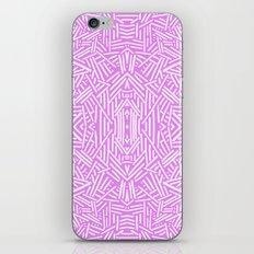 Radate (Lilac) iPhone & iPod Skin