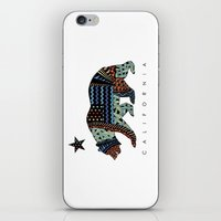 california iPhone & iPod Skins featuring California by TAM ♡