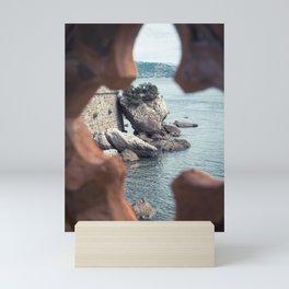 Sea rocks Mini Art Print