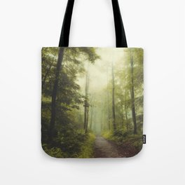 Long Forest Walk Tote Bag