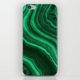 Malachite Texture 08 iPhone Skin