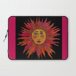 Decoupage Sun Laptop Sleeve