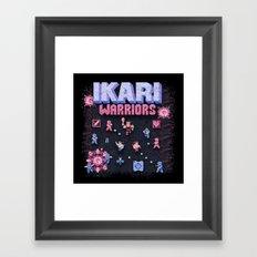Warriors Ikari Framed Art Print