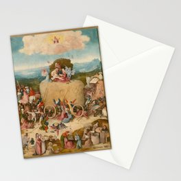 Bosch, Hieronymus - The Haywain Triptych Stationery Cards
