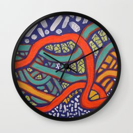 COLOR MY WORLD 7 Wall Clock