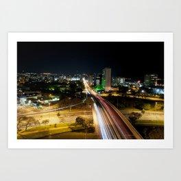 Porto Alegre Art Print