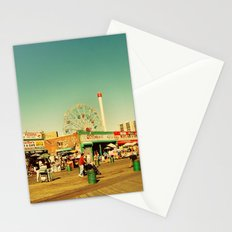 Coney Island luna park, New York Stationery Cards