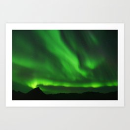 The Northern Lights 07 Art Print