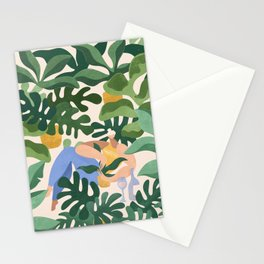Plants are my kind of people Stationery Cards