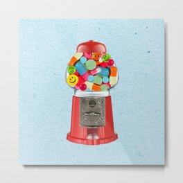 crazy candy Metal Print