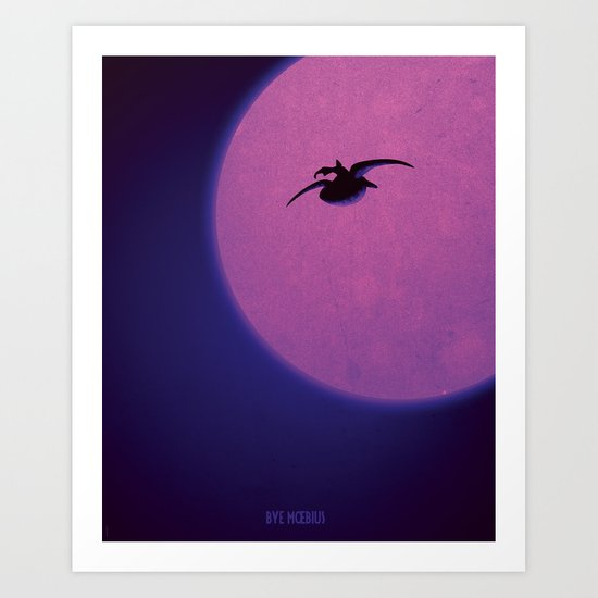 Tribute to a great man Art Print