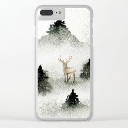 Winter Wonderland 6 Clear iPhone Case