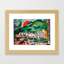 Evening Framed Art Print