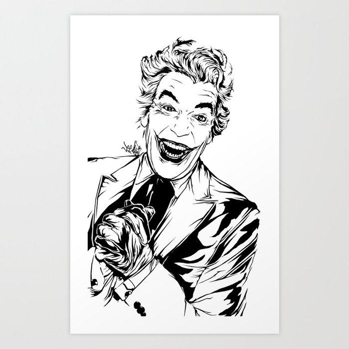 Joker On You Art Print