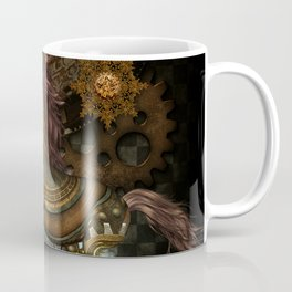 Steampunk,mystical steampunk unicorn Coffee Mug