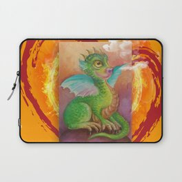 Heart of Baby Dragon Laptop Sleeve