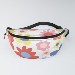 Bright Flowers Fanny Pack