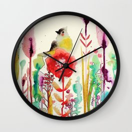 la grace du moment Wall Clock