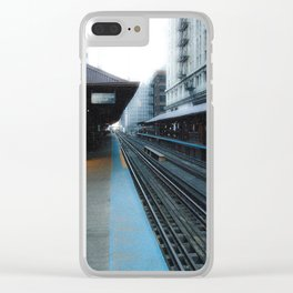 Quincy Station Clear iPhone Case