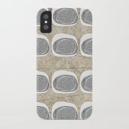 Stone Rows iPhone Case