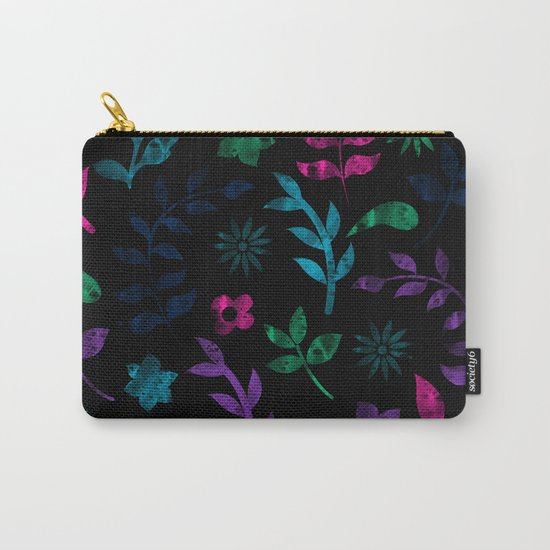 Seamless Flower Pattern III Carry-All Pouch