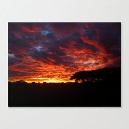 Sunset #2 Canvas Print