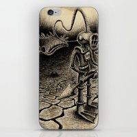 diver iPhone & iPod Skins featuring Diver by Christian Guerrero