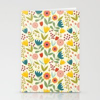 scandinavian Stationery Cards featuring Scandinavian summer by Olly Dolly Design