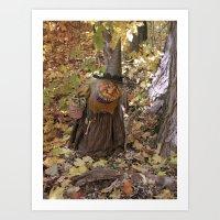 Rucus Studio Hag of the Woods Art Print