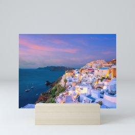 Santorini 05 Mini Art Print