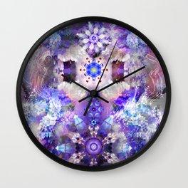 Cosmic Lampshade Wall Clock