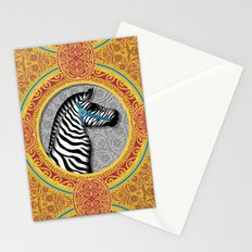 The Carousel Zebra Stationery Cards