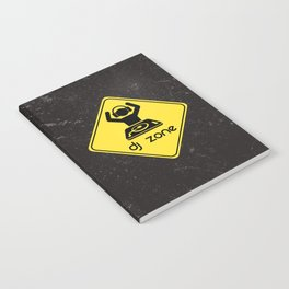 DJ Zone Rave Quote Notebook