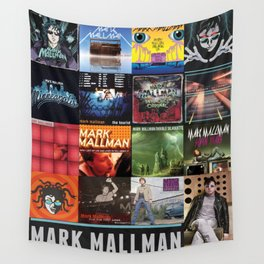 Mark Mallman - Album Compilation Wall Tapestry