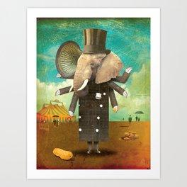 Circus-Circus: Security Art Print