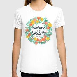 Floral Wildness T-shirt
