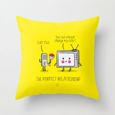 The Perfect Relationship 02 Throw Pillow