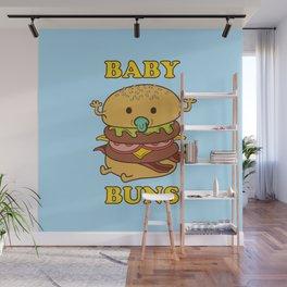 BABY BUNS 2 Wall Mural