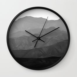 Mountains of the Judean Desert 10 Wall Clock
