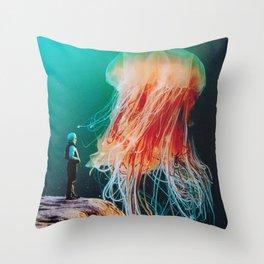 The Ledge Throw Pillow