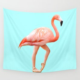 Classic Flamingo Wall Tapestry