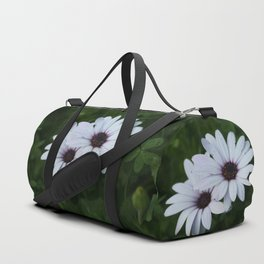Friendship - Two African Daisies Duffle Bag