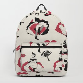 Can Can Dancers Backpack