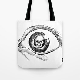 Skull Eye Tote Bag