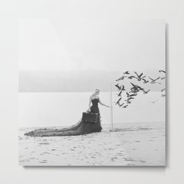 You never know what's on the other side Metal Print