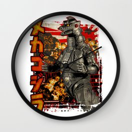 Robot King Pop Wall Clock