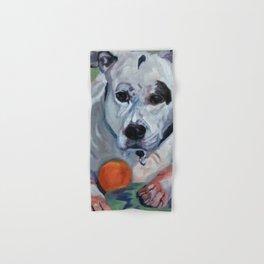 Staffordshire Terrier Dog Portrait Hand & Bath Towel